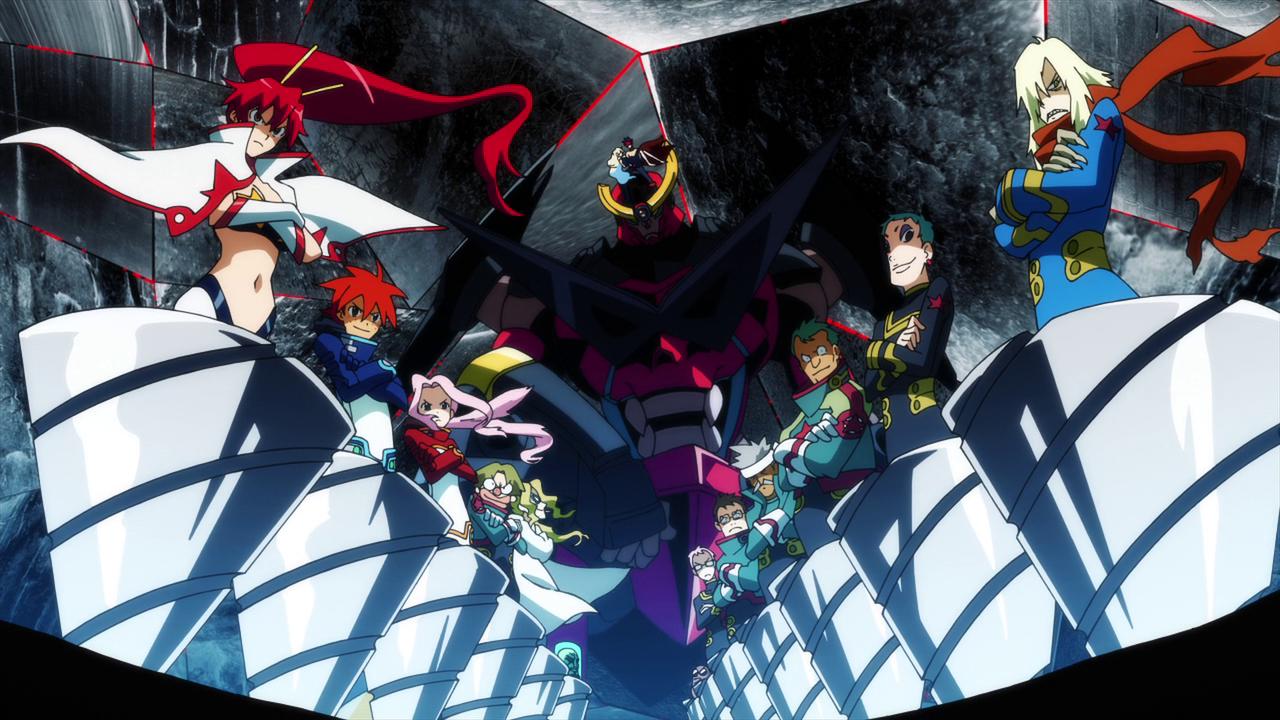 Anime - tengen toppa gurren lagann TeamDaiGurrenDrills