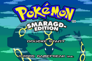 Pokemon Smaragd-Edition Titlescreen