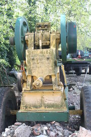 Pegson Crusher - Samuel Pegg &amp; Son branded - IMG 7215