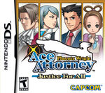Phoenix Wright Justice For All Packshot
