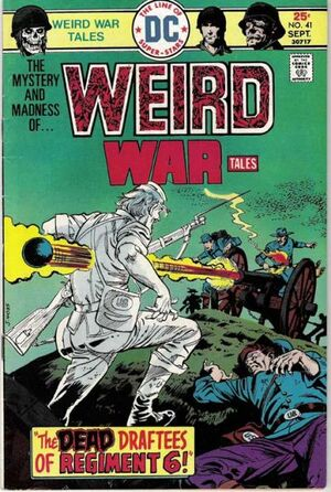 Cover for Weird War Tales #41