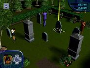 Cassandra, Mortimer and Bella (The Sims Console GameCube)