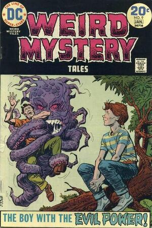 Cover for Weird Mystery Tales #9