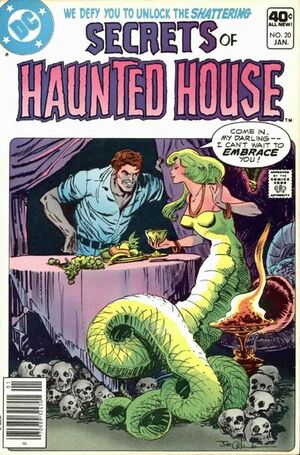 Cover for Secrets of Haunted House #20