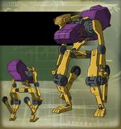 Knightmare Frame - MR-1 - B