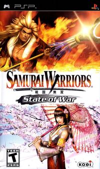 Samurai Warriors State of War Case