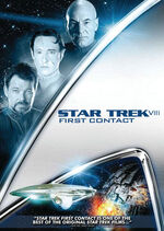 Star Trek First Contact 2009 DVD cover Region 1