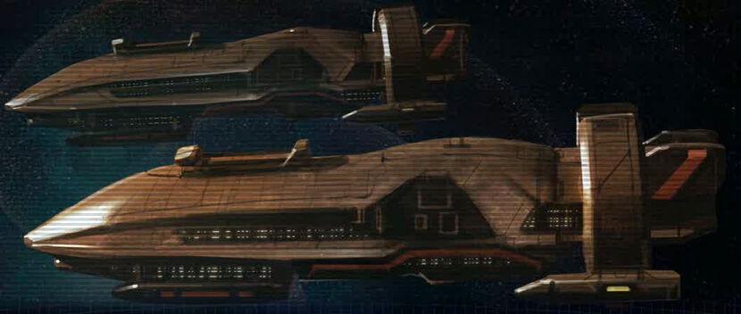 [Roleo Onderon] Un camino Sin Fin [Sin Revisar] 830px-Mandalorian_battleship_Great_War