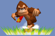 Donkey Kong Spinning Kong SSB