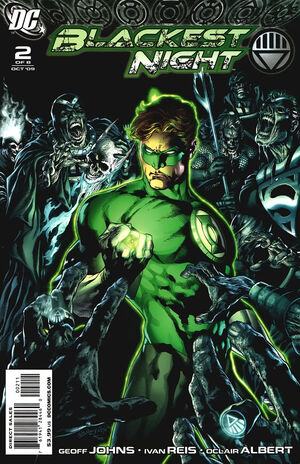 Cover for Blackest Night #2