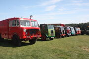 Thornycroft lineup at Milestones - Hampshire RR 09 - IMG 4247