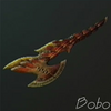 liste des armes de monster hunter tri 100px-Flameaxe