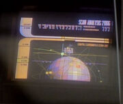 Artificial satellite display