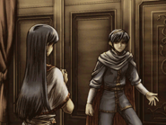 Elice convincing marth to escape