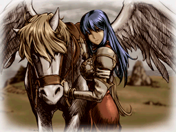 [NDS] Fire Emblem: Shadow Dragon Shiida_and_her_pegasus