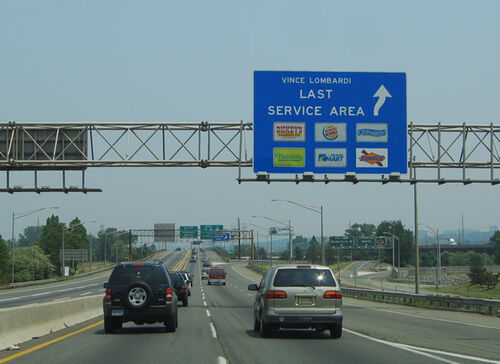 New Jersey New Jersey Turnpike Vince Lombardi Rest Stops And Service Plazas