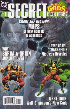 Cover for New Gods (one-shots) #1