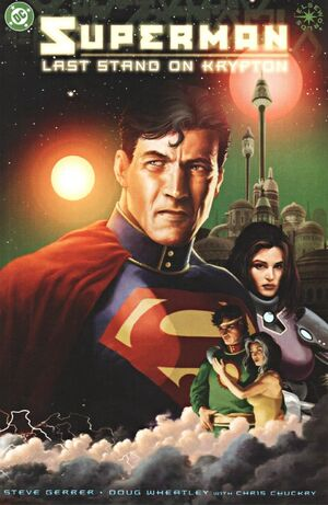 Cover for Superman: Last Stand on Krypton #1