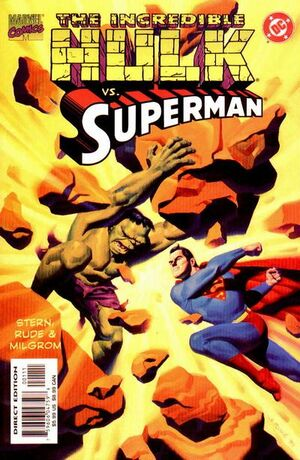 Incredible Hulk vs. Superman Vol 1 1