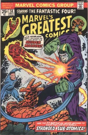 Marvel&#39;s Greatest Comics Vol 1 58
