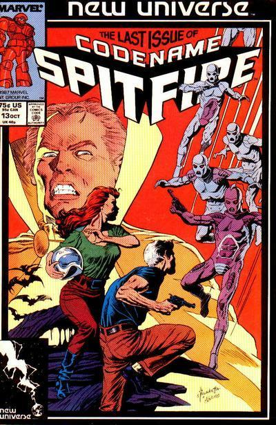 Classic Comic Covers - Page 3 Codename_Spitfire_Vol_1_13