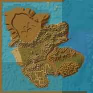 Island of Doctor Lapidis Map