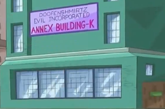Phineas And Ferb Dr Doofenshmirtz Building Doofenshmirtz Evil Inc...
