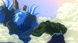 Hulk Beat Frost Giant HV
