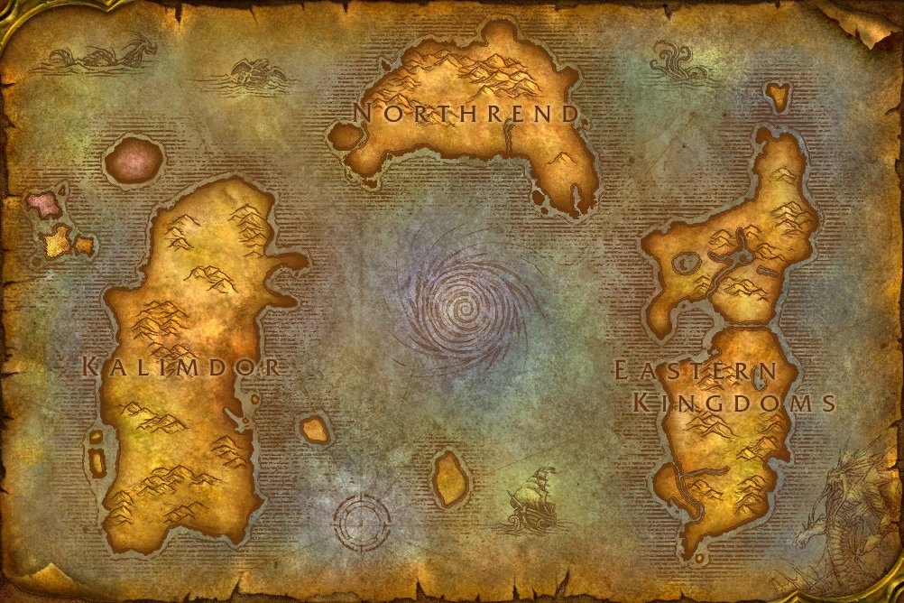 Legion World Map.The New Legion World Map Is Out