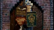 Signs of the Three-Most important locations in Diagon Alley (1991)