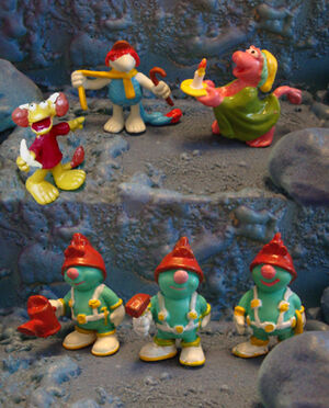 Spanish Fraggle Figures