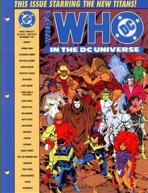 Cover for Who's Who in the DC Universe #14