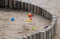 Sandbox with Toys