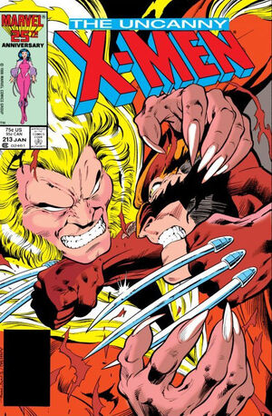 Uncanny X-Men Vol 1 213