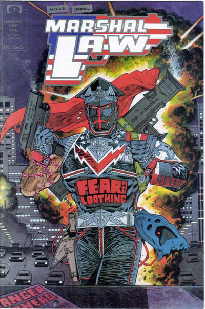 Classic Comic Covers - Page 3 Marshal_Law_Vol_1_1