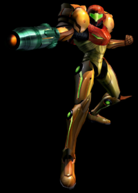 Samus Echoes Render Varia Black background