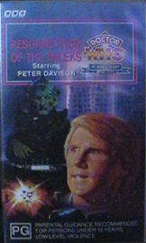 Resurrection of the daleks australia vhs
