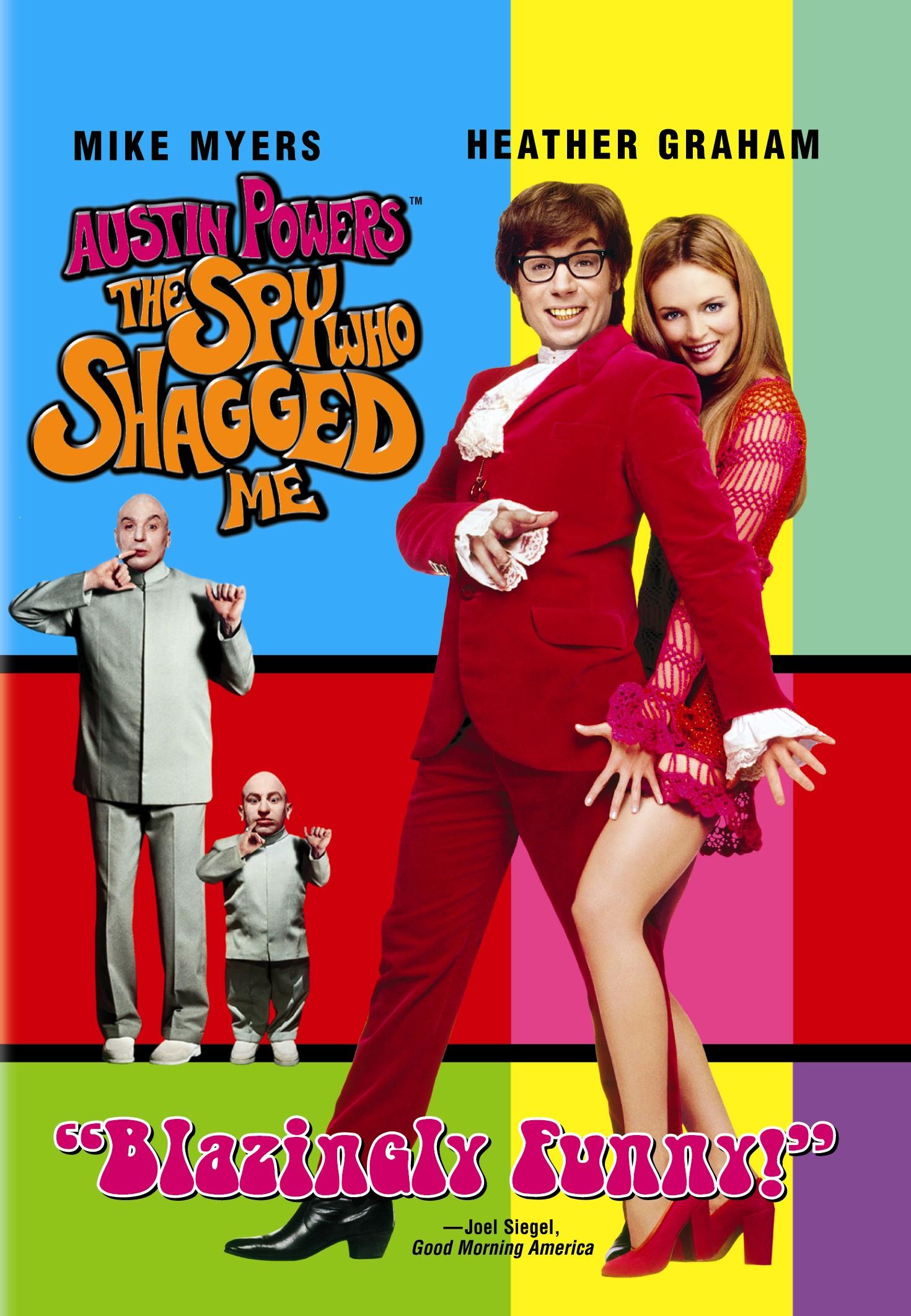 Austin Powers Spy Who Shagged Me Movie