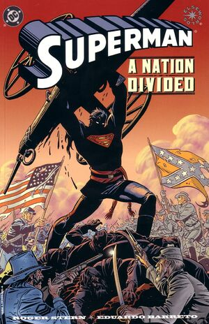 Cover for Superman: A Nation Divided #
