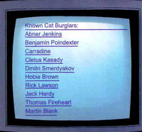 Known Cat Burglars (Earth-1610)