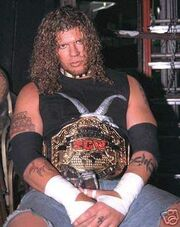 Raven ECW World Heavyweight