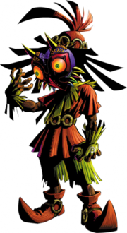 Skull Kid Artwork (Majora's Mask)