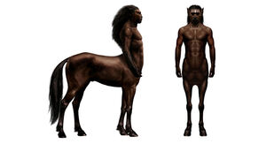 Centaurs (whole body - conceptual artwork)