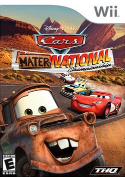 Cars Mater-National Championship (Wii) (NA)