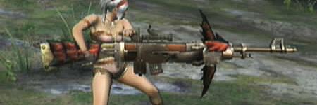 liste des armes de monster hunter tri RathBowgun