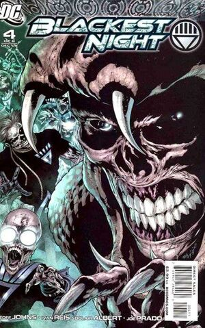 Cover for Blackest Night #4