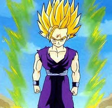 Son Goku Super Saiyan 2. anime picture dragon ball Z
