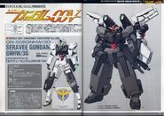 00V GN-008GNHW3G Seravee Gundam + SEM