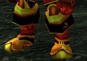 Blood Knight Boots