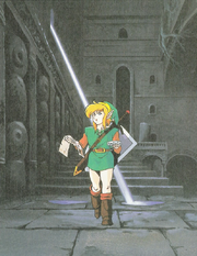 Link in a Dungeon (Link&#39;s Awakening)